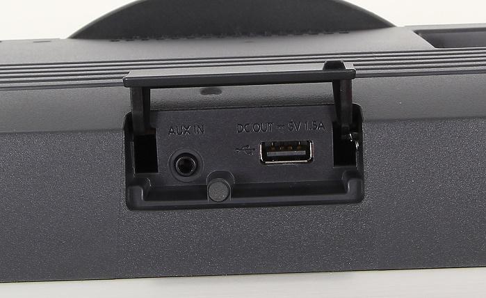 Panasonic SC-ALL5CD Anschluesse Oberseite