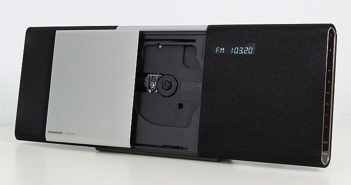 Panasonic SC-ALL5CD Front Seitlich2