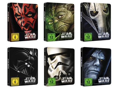 Star Wars - Blu-ray Disc-Steelbooks
