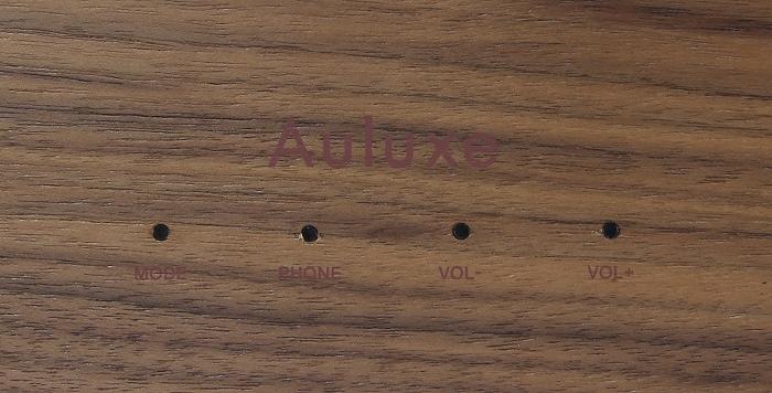 Auluxe New Casa Bedienelemente Oberseite