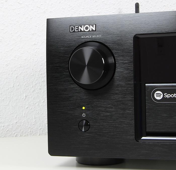 Denon AVR-X6200W Bedienelemente Front1
