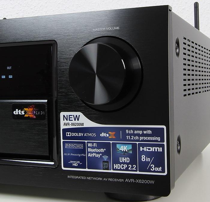 Denon AVR-X6200W Bedienelemente Front2
