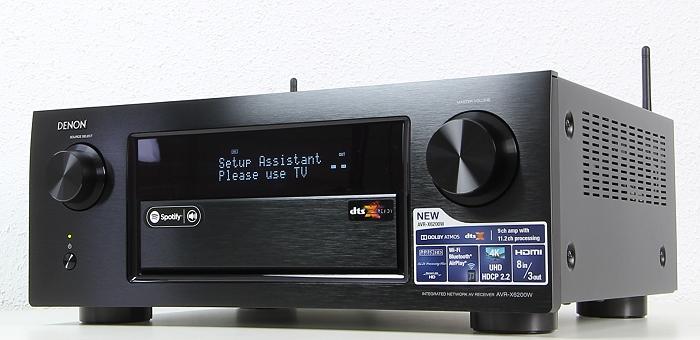 Denon AVR-X6200W Front Seitlich2