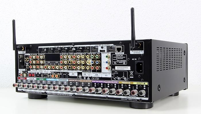 Denon AVR-X6200W Rueckseite Seitlich1