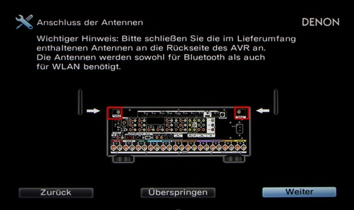 Denon AVR-X6200W Screenshot 13