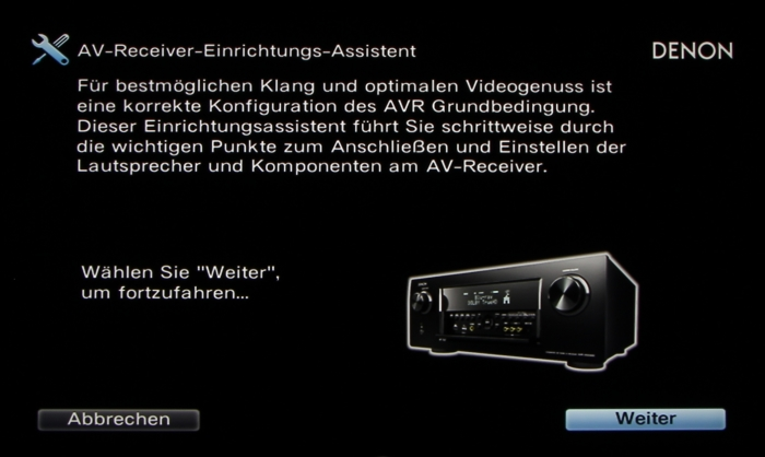 Denon AVR-X6200W Screenshot 2