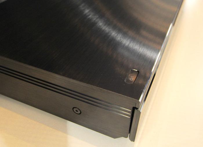 Panasonic UltraHD Blurayplayer links seite