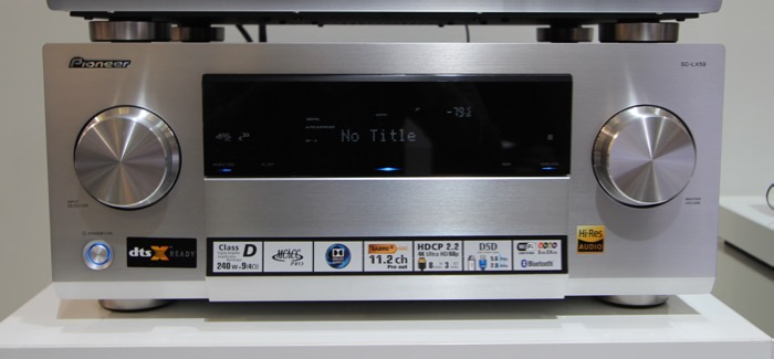 Pioneer SC-LX59 Silber Front