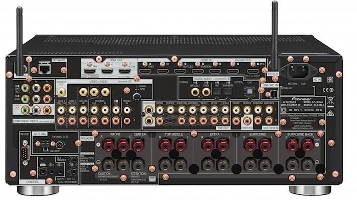 Pioneer SC-LX89-K Rear