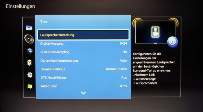 Samsung BD-J7500 Screenshot 11