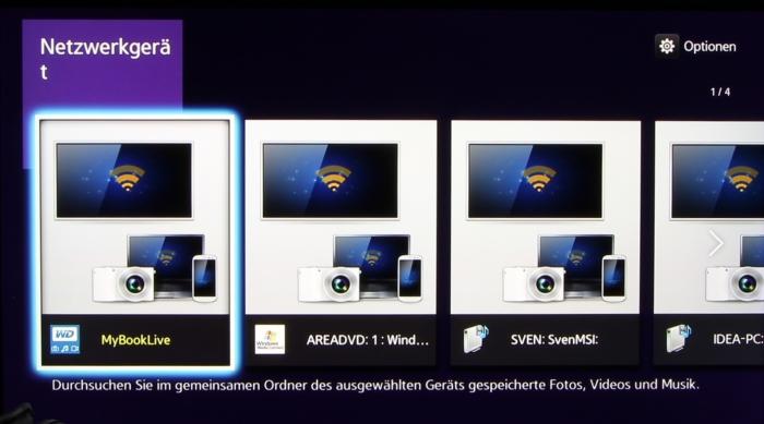 Samsung BD-J7500 Screenshot 3