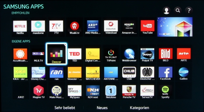 Samsung BD-J7500 Screenshot 7