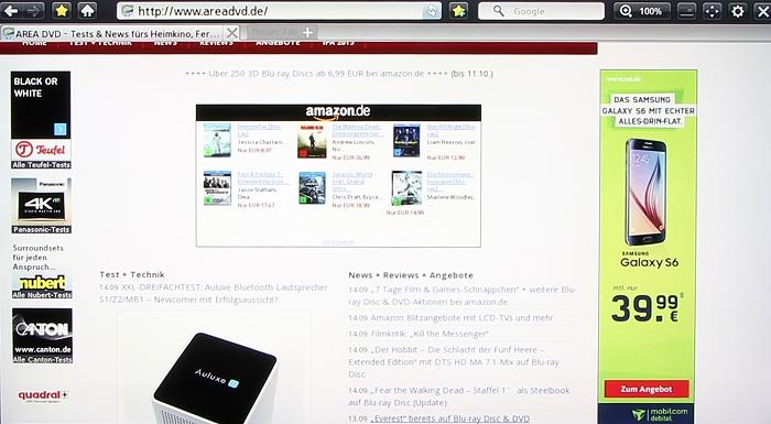 Samsung BD-J7500 Screenshot 8