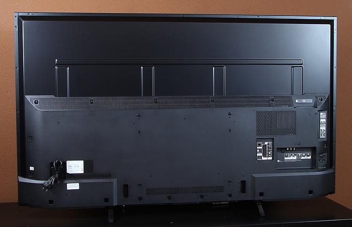 Sony KD65X8505 Rueckseite Seitlich