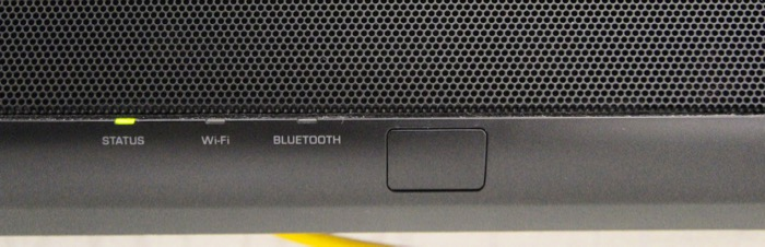 Yamaha YSP5600SW Soundbar LEDs