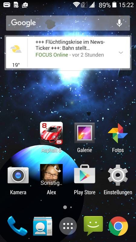 Archos 50 Diamond Screenshot
