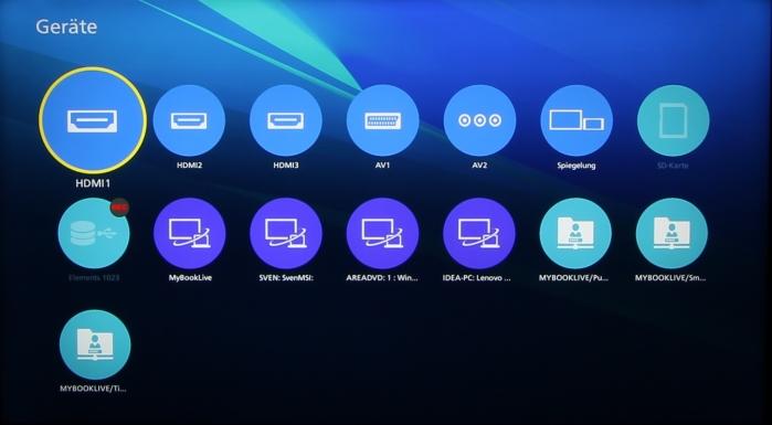 Panasonic TX-55CXW804 Screenshot 18