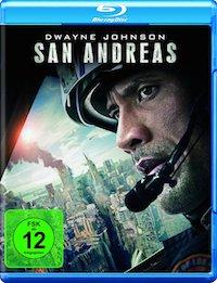 San Andreas Blu-ray Disc