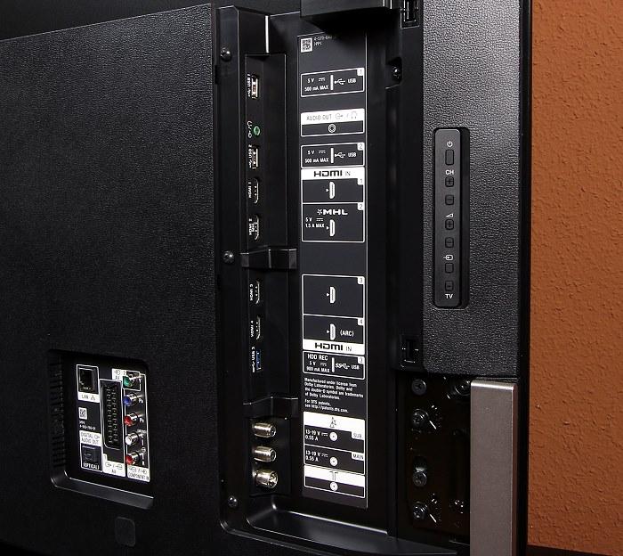Sony KD65X9005 Anschluesse Rueckseite2