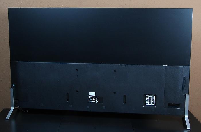 Sony KD65X9005 Rueckseite Seitlich