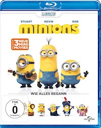 Minions Blu-ray Disc