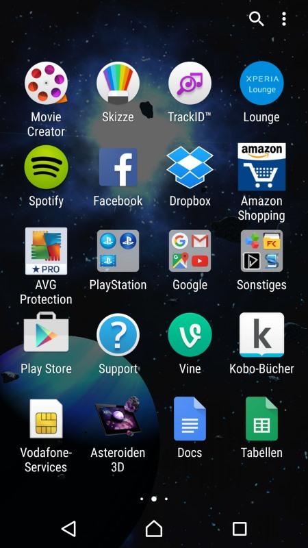 Sony Xperia Z5 Screenshot 2