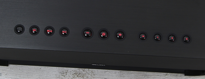 Teufel Boomster XL Bedienelemente Oberseite2