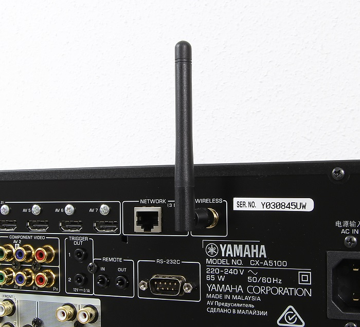 Yamaha CX-A5100 Antenne