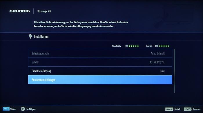 Grundig 48CLX8586SP Screenshot 13