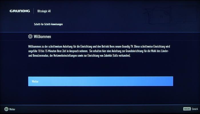 Grundig 48CLX8586SP Screenshot 2