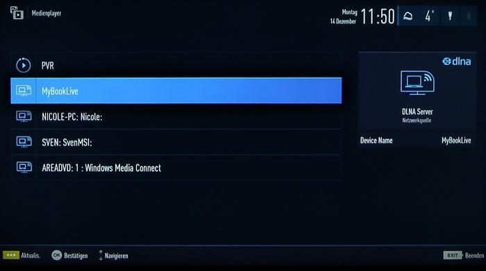 Grundig 48CLX8586SP Screenshot 23