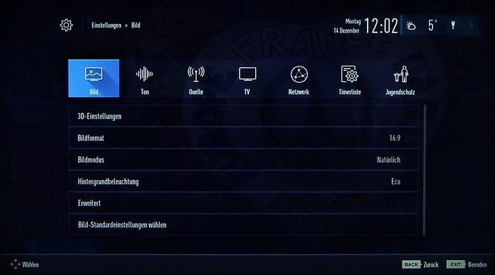 Grundig 48CLX8586SP Screenshot 24