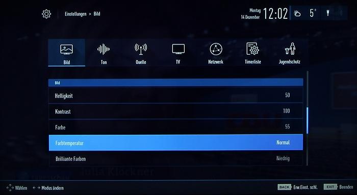 Grundig 48CLX8586SP Screenshot 25