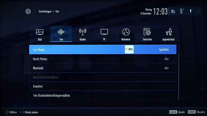 Grundig 48CLX8586SP Screenshot 27