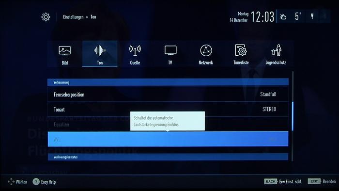 Grundig 48CLX8586SP Screenshot 28