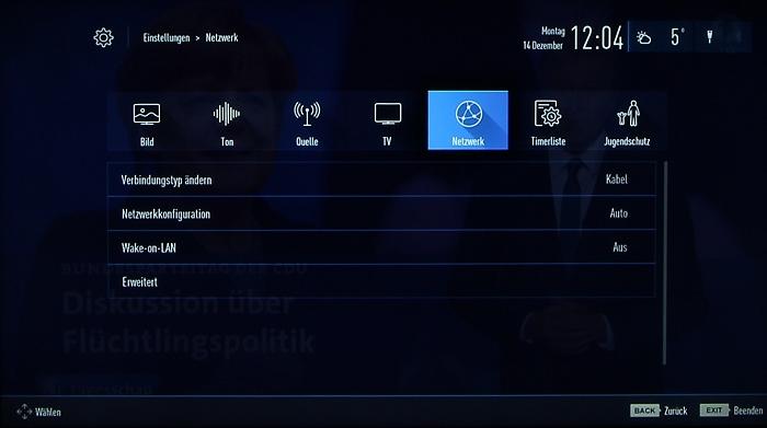 Grundig 48CLX8586SP Screenshot 29