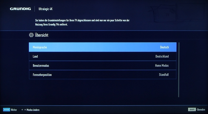Grundig 48CLX8586SP Screenshot 6