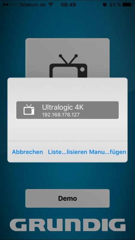 Grundig Smart Remote 3