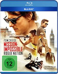 Mission Impossible Rogue Nation Blu-ray Disc