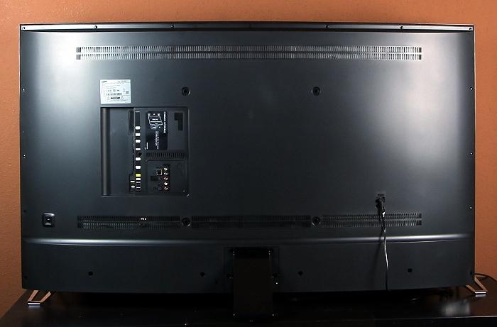 Samsung UE65JU6550 Rueckseite Seitlich