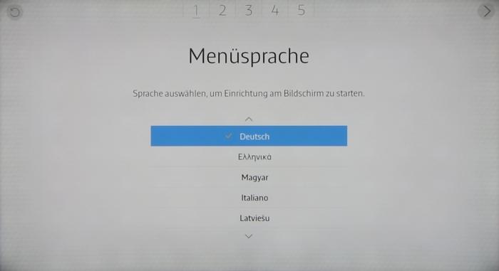 Samsung UE65JU6550 Screenshot 1