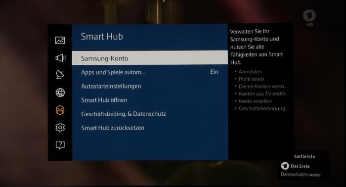 Samsung UE65JU6550 Screenshot 15