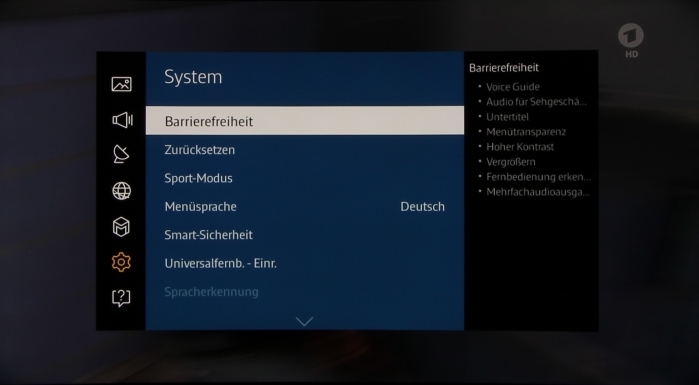 Samsung UE65JU6550 Screenshot 16