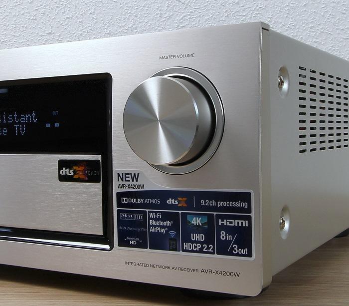 Denon AVR-X4200W Bedienelemente Front1