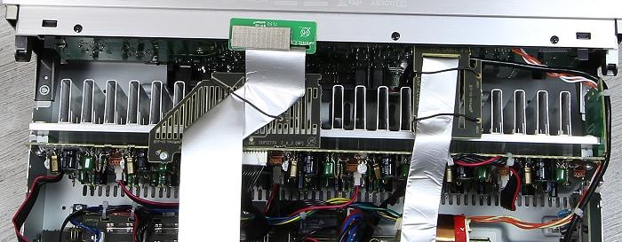 Denon AVR-X4200W Innenleben2