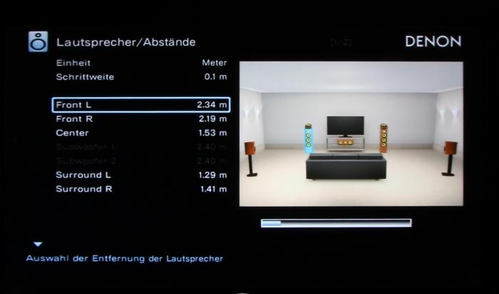 Denon AVR-X4200W Screenshot 3