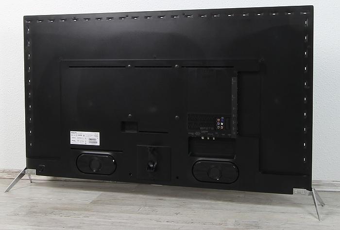 Philips 55PUS7600 Rueckseite Seitlich