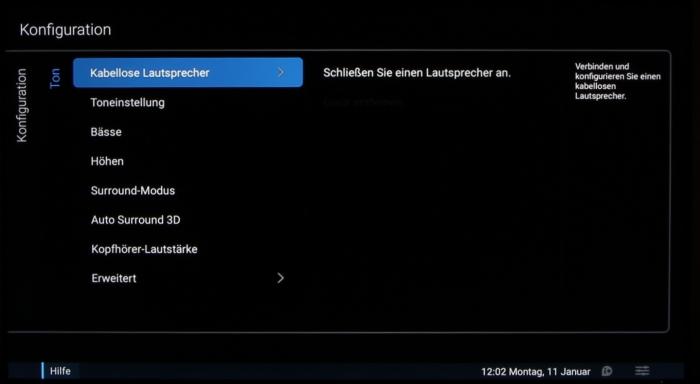 Philips 55PUS7600 Screenshot 24