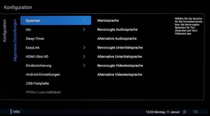 Philips 55PUS7600 Screenshot 26