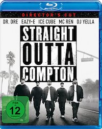 Straight Outta Compton Blu-ray Disc